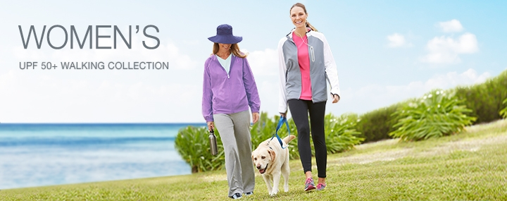 Women's Sun Protective Swimwear and Clothing - The UPF 50+ Protection Walking Activewear