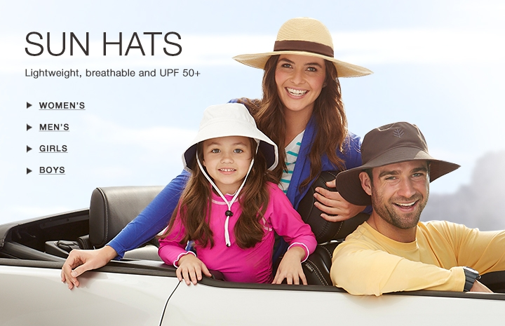 UPF 50+ Sun Hats for Women, Men, Girls, Boys and Babies