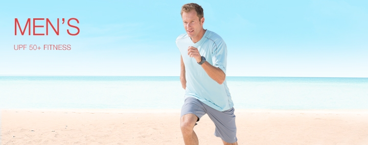 Men's Sun Protective Swimwear and Clothing: The UPF 50+ Protection for Men's Activewear