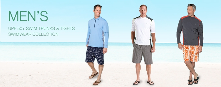 Men's Sun Protective Swimwear and Clothing - The UPF 50+ Protection for Men's Board Shorts