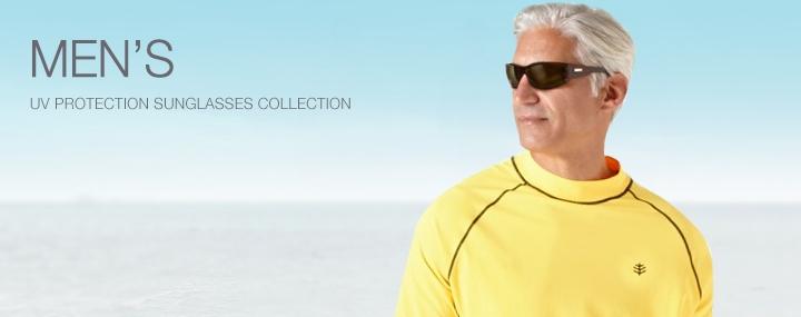 Men's UV Protective Sunglasses - The UPF 50+ Protection for Men's Eyewear