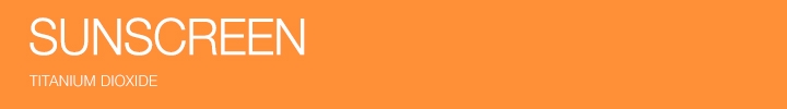 SPF 30+ Sunscreens Titanium Dioxide