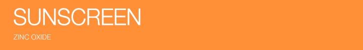 SPF 30+ Sunscreens Zinc Oxide