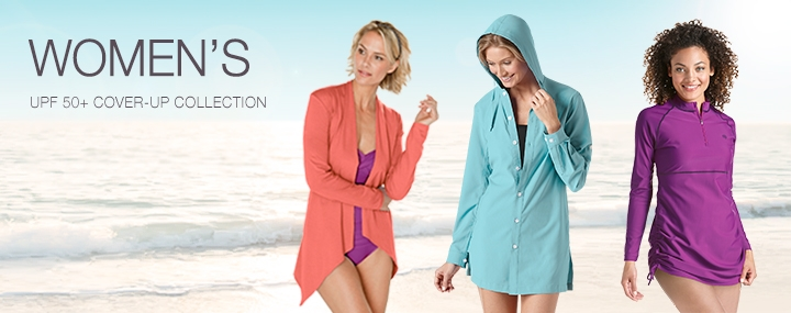 Women's Sun Protective Swimwear and Beach Cover-Ups - The UPF 50+ Protection for Women