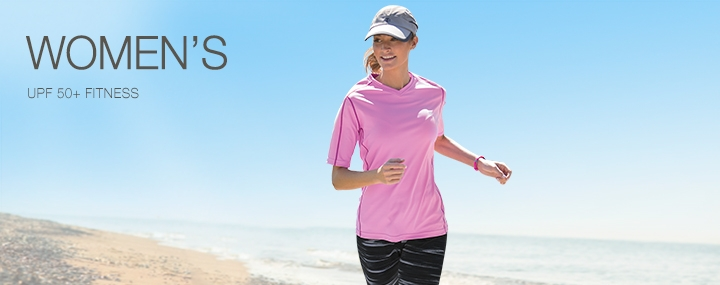 Women's Sun Protective Activewear Fitness Shirts - The UPF 50+ Protection for Women