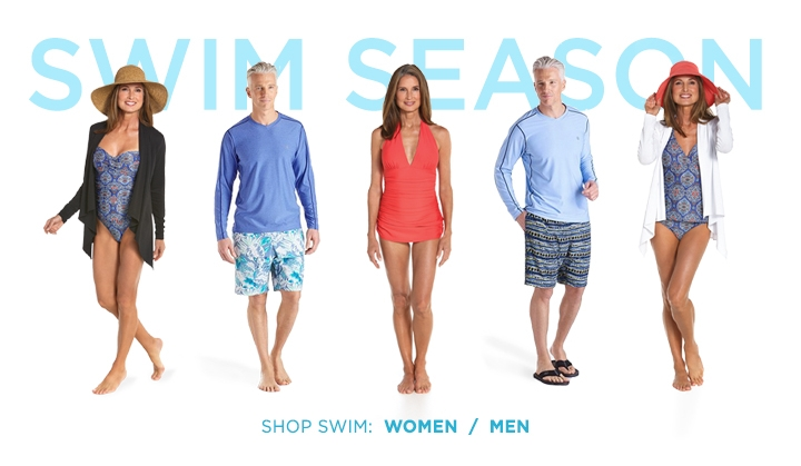 UPF 50+ Sun Protection: Swimwear for Women and Men