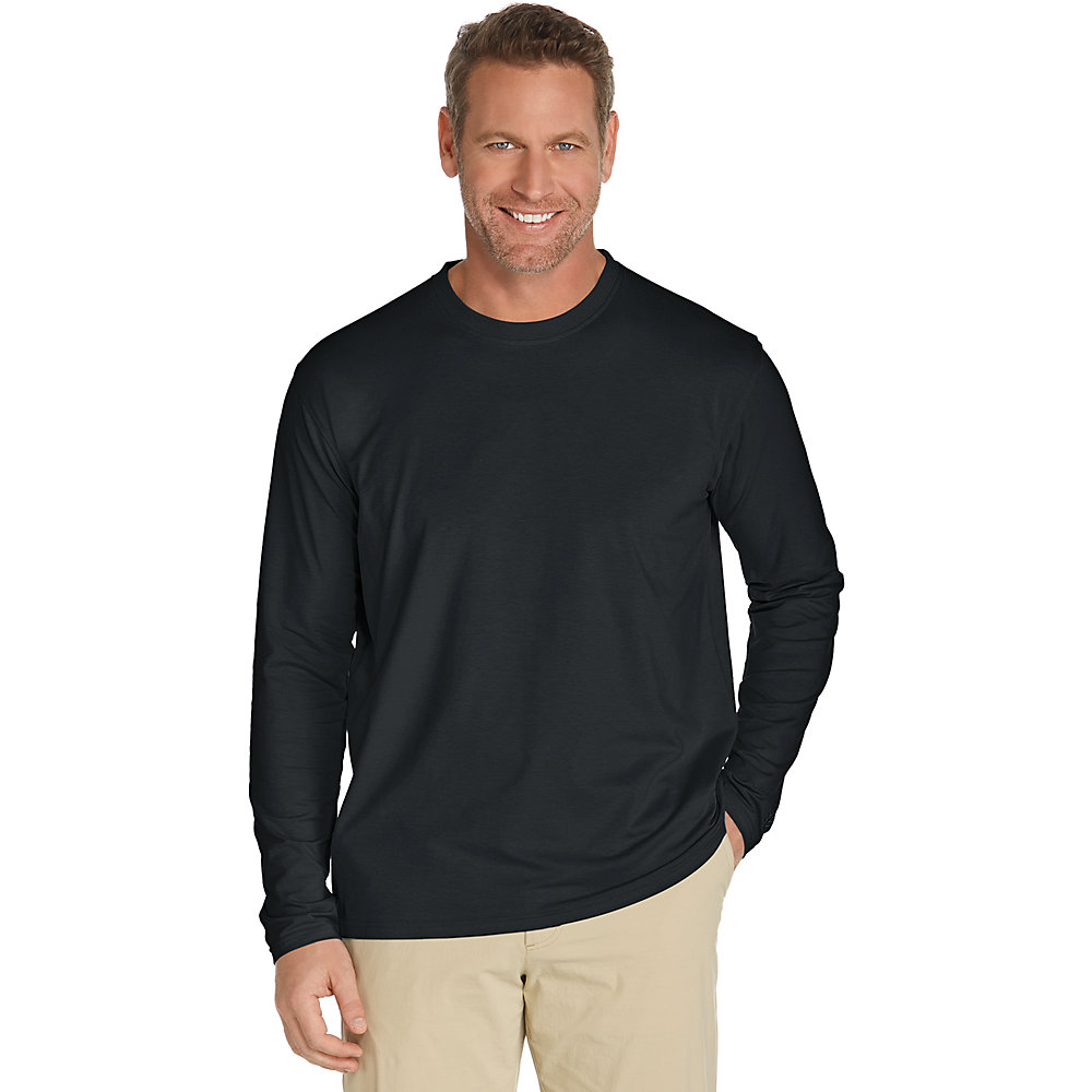 coolibar upf 50 men 39 s long sleeve t shirt ebay