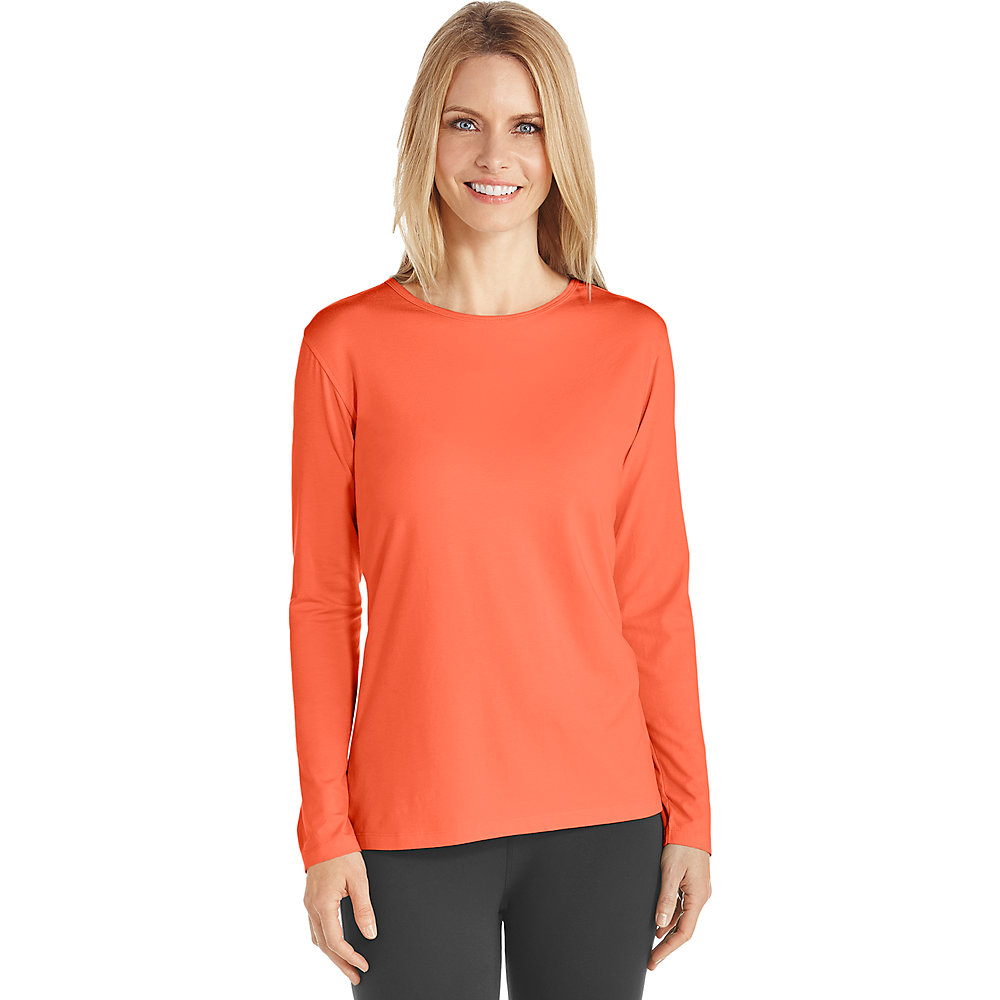 coolibar upf 50 women 39 s long sleeve t shirt