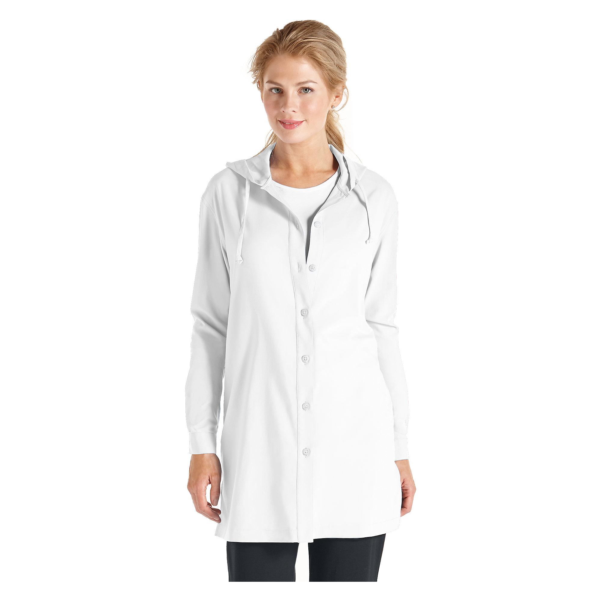 coolibar upf 50 women 39 s beach shirt sun protection ebay