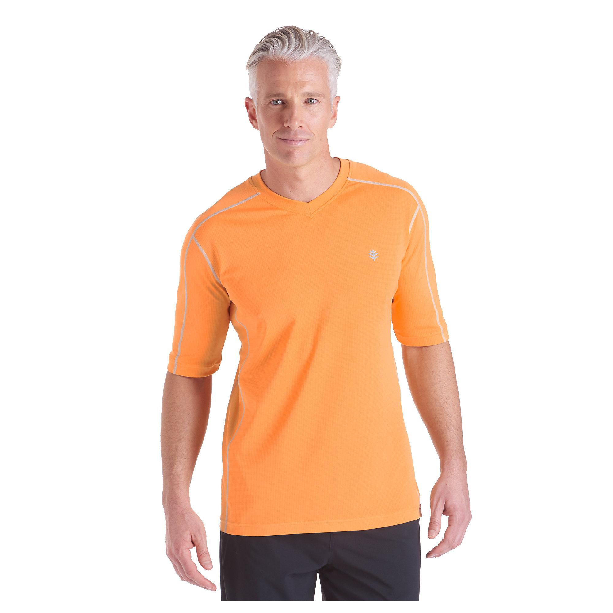 Coolibar Upf 50 Mens Short Sleeve Cool Fitness Shirt Sun