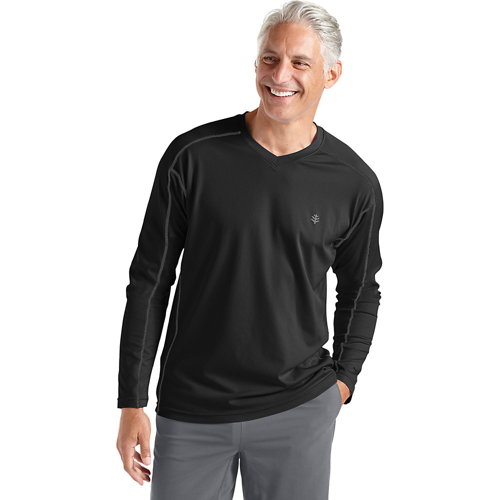 Coolibar Upf 50 Men 39 S Long Sleeve Cool Fitness Shirt