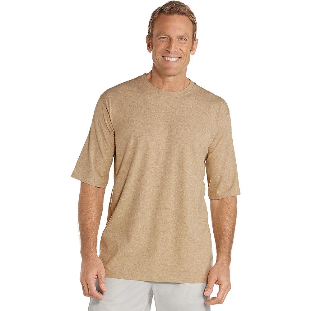 Coolibar upf 50 men 39 s short sleeve t shirt ebay for Short t shirt men