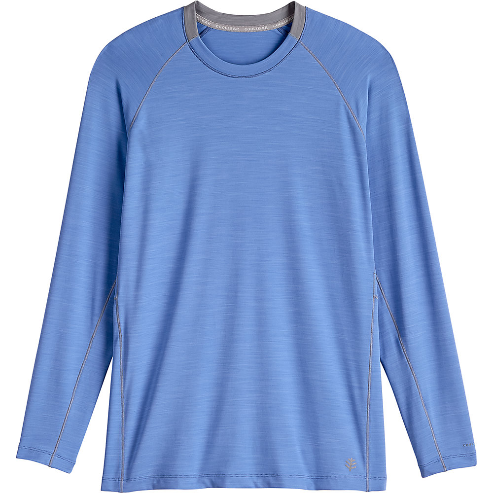 Coolibar Upf 50 Men 39 S Long Sleeve Workout Shirt Ebay