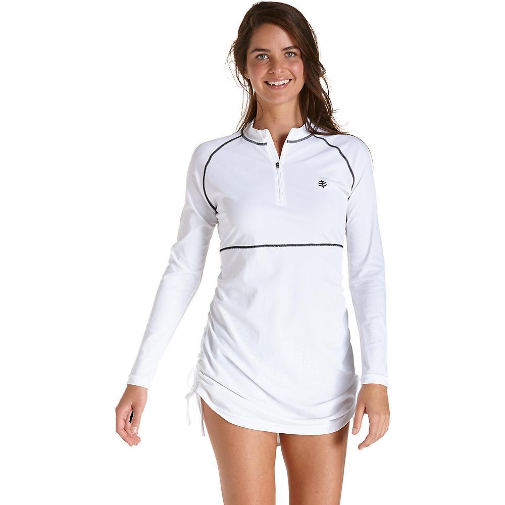 coolibar upf 50 s ruche swim shirt ebay