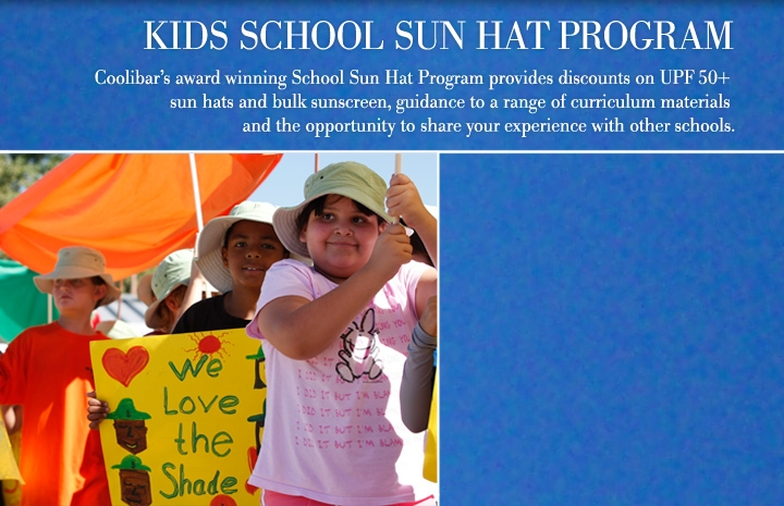 Coolibar School Sun Hat Program