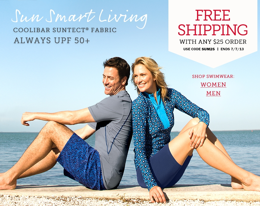 UPF 50+ Swimwear, Clothing, Sun Hats - Smart Father's Day Gifts