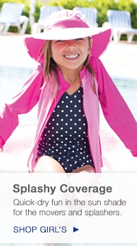 Girl's Sun Protective Hats