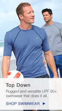 Men's UPF 50+ Swimwear