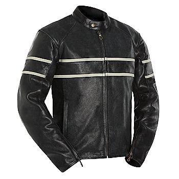 Retro Leather Motorcycle Jacket