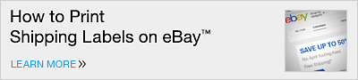 How to Print Shipping Labels on eBay(TM)