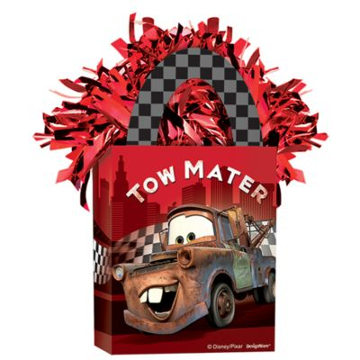 Contrapeso para globo, Disney Pixar Cars