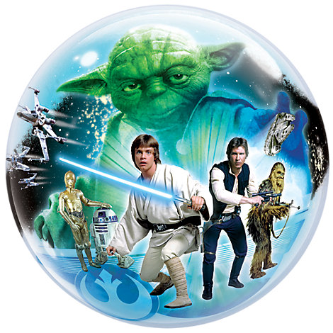 Palloncino Bubble Star Wars