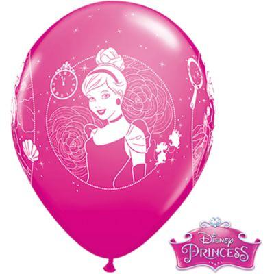 Set 6 globos, princesa Disney