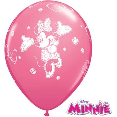 Pack 6 globos de Minnie