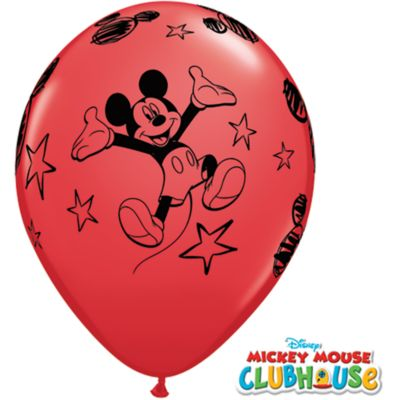 Mickey Mouse Balloons, Pack of 6