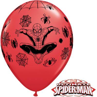 Pack 6 globos de Spider-Man