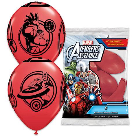 The Avengers - Luftballons, 6er-Pack