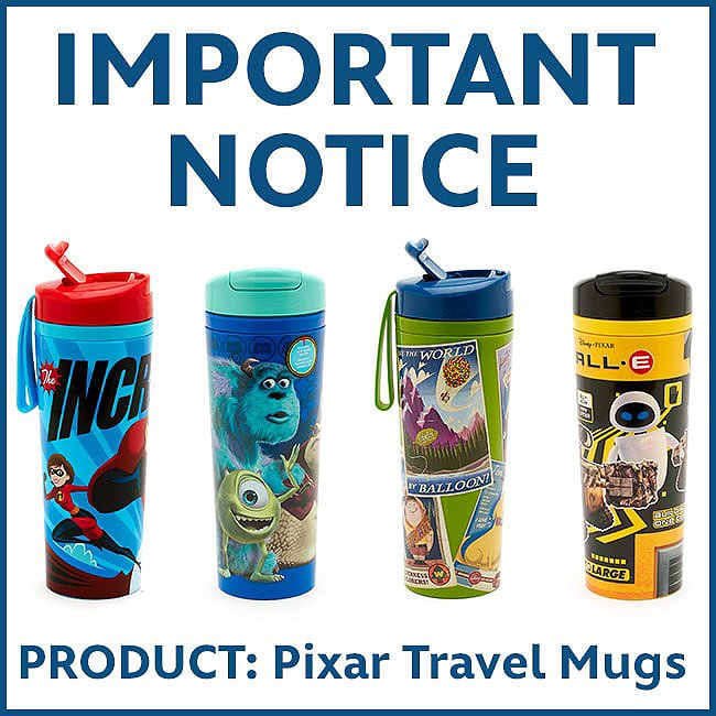 IMPORTANT NOTICE- PRODUCT Travel Mug