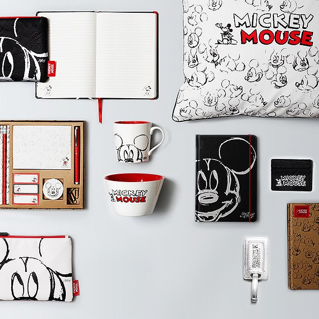 Mickey Mouse exclusive range