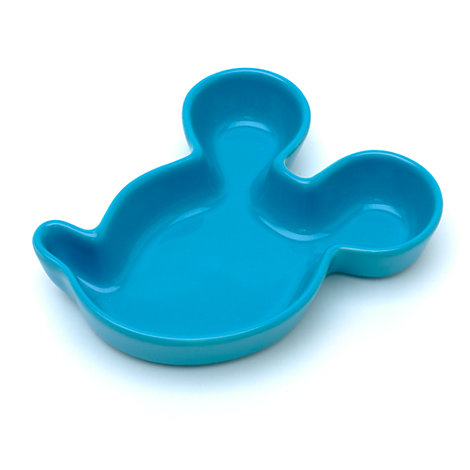 Disneyland Paris Blue Mickey Mouse Snack Bowl