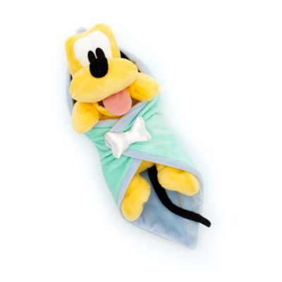 Disney's Babies Pluto Soft Toy and Blanket