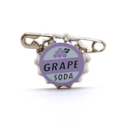 Up Grape Soda Pin