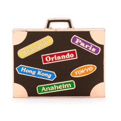 Around The World Luggage Pin, Disneyland Paris