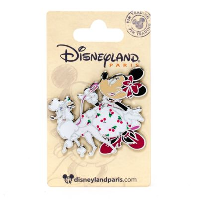 Pin's Disneyland Paris Minnie Mouse style vintage