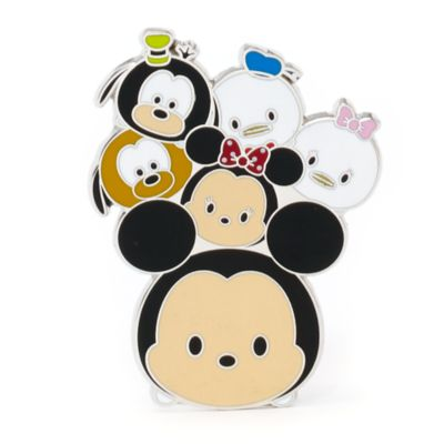 Mickey Mouse and Friends Tsum Tsum Pin, Disneyland Paris