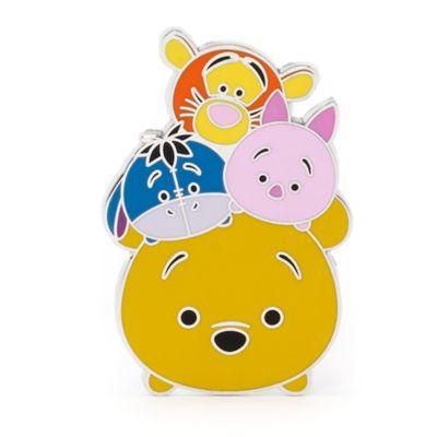 Winnie the Pooh and Friends Tsum Tsum Pin, Disneyland Paris