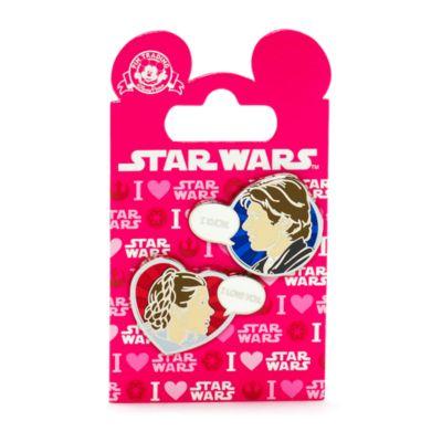 Star Wars Han Solo and Leia Pin, Disneyland Paris