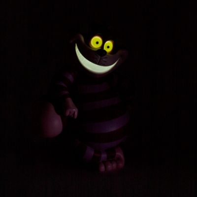 Cheshire Cat Light-Up Figurine