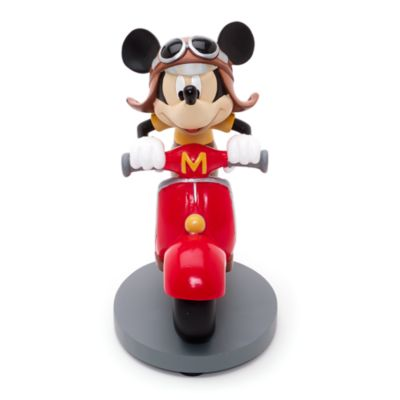 Mickey Mouse Scooter Figurine