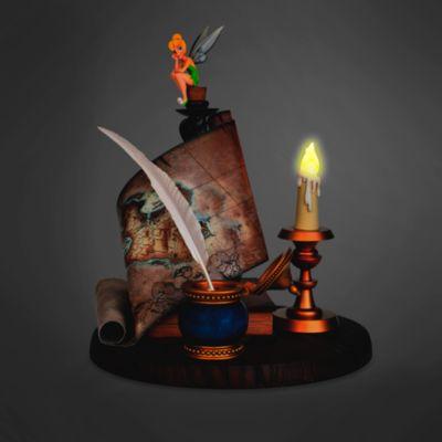 Disneyland Paris Tinker Bell And Map Figurine