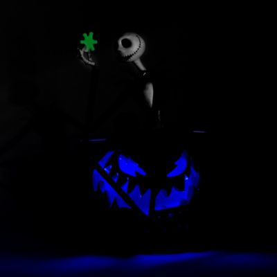 Disneyland Paris Jack Skellington Light-Up Figurine