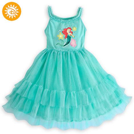 The Little Mermaid Mesh Dress For Kids
