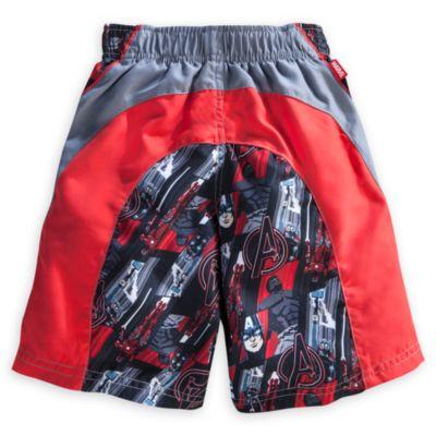 Avengers Long Swimming Shorts For Kids