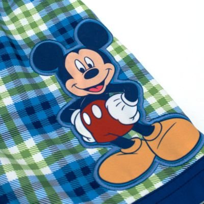 Mickey Mouse Long Swimming Shorts For Kids