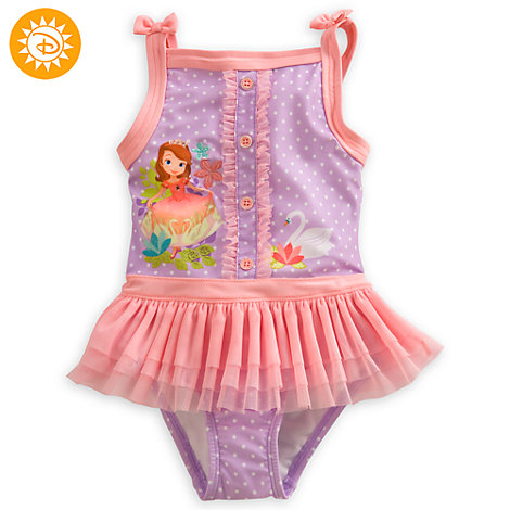 Sofia The First Deluxe Swimsuit For Kids