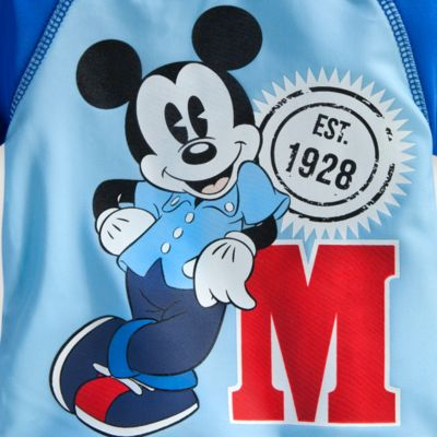 Mickey Mouse City Collection Rash Top With UPF 50+ Protection